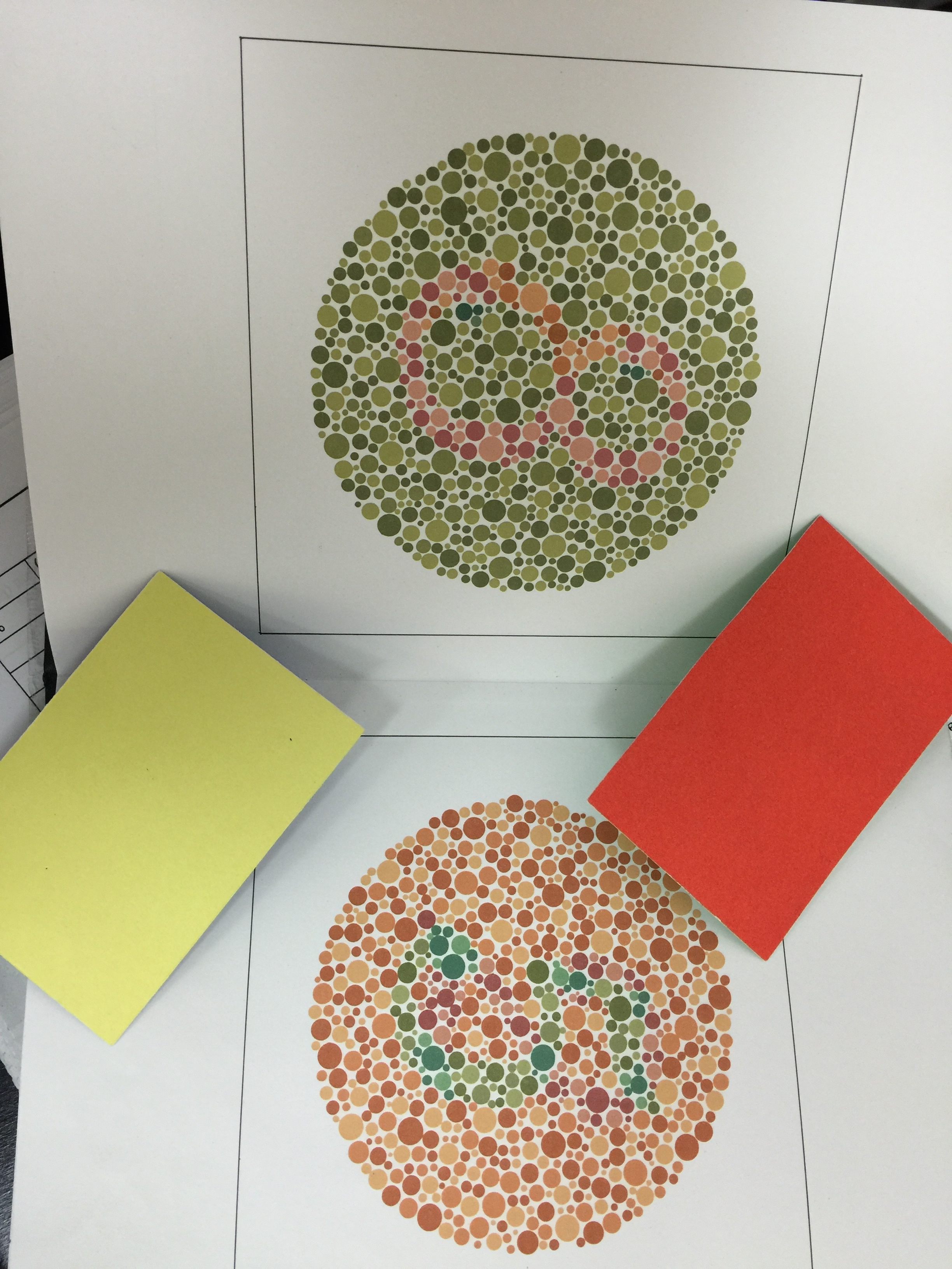 Types of Color Vision Tests AOPA dotphysicalblo