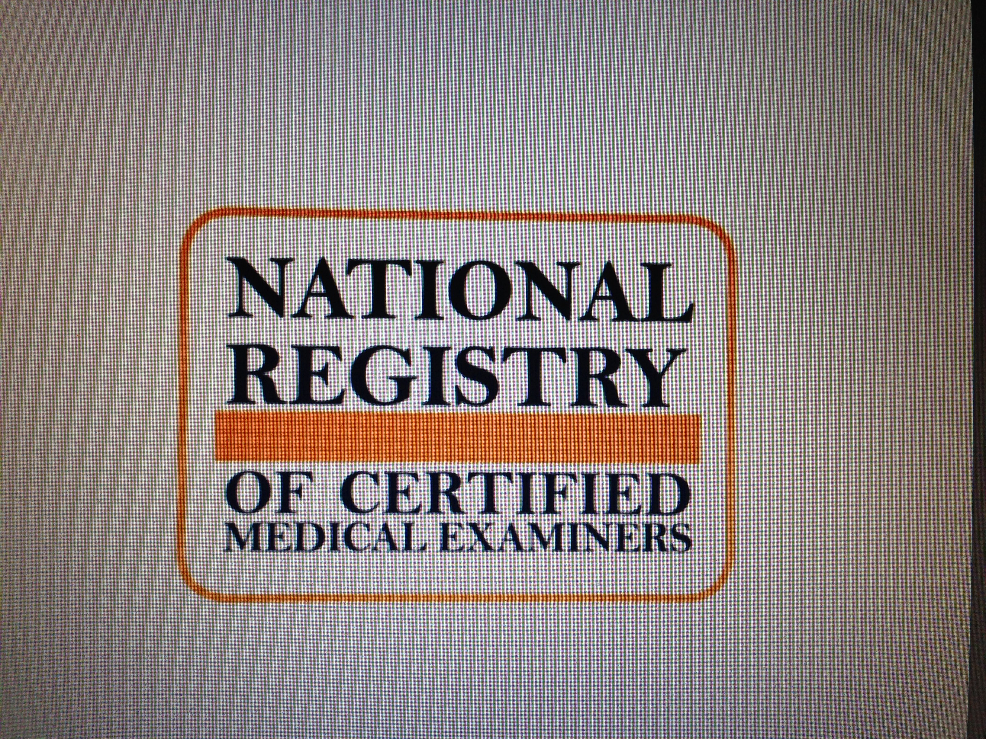 54 055 Registered Medical Examiners In 2017 Source Nrcme Data